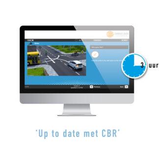 3 Hours of Online Exam Training Driving Licence A - 3 Uur Online Motor Theorie Examens Oefenen in het Engels