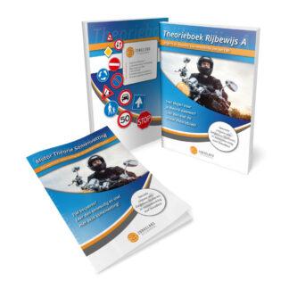 Motorrijbewijs Boek met Motor Theorie Samenvatting - Zorgeloos Studeren