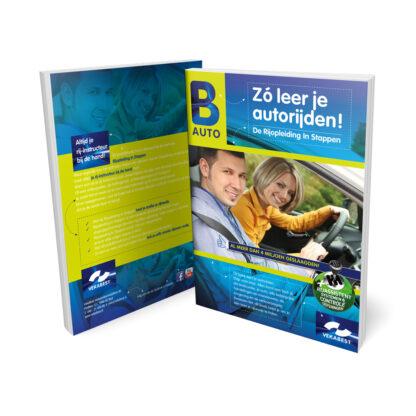 Praktijkboek Rijbewijs B - Rijopleiding in Stappen (RIS) voor het auto rijbewijs